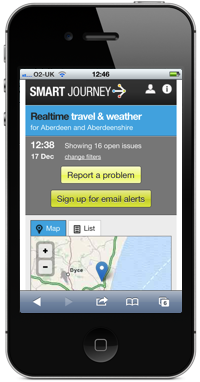 SmartJourney Screenshot